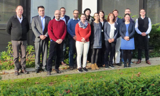 Participants of VESPA II kick-off meeting in Braunschweig in November 2017